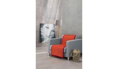 IBENA Sesselschoner »Fano«, mit modernen Streifen kaufen