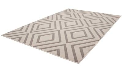 calo-deluxe Teppich »Aloisy 111«, rechteckig, 10 mm Höhe, Kurzflor, Konturenschnitt,... kaufen