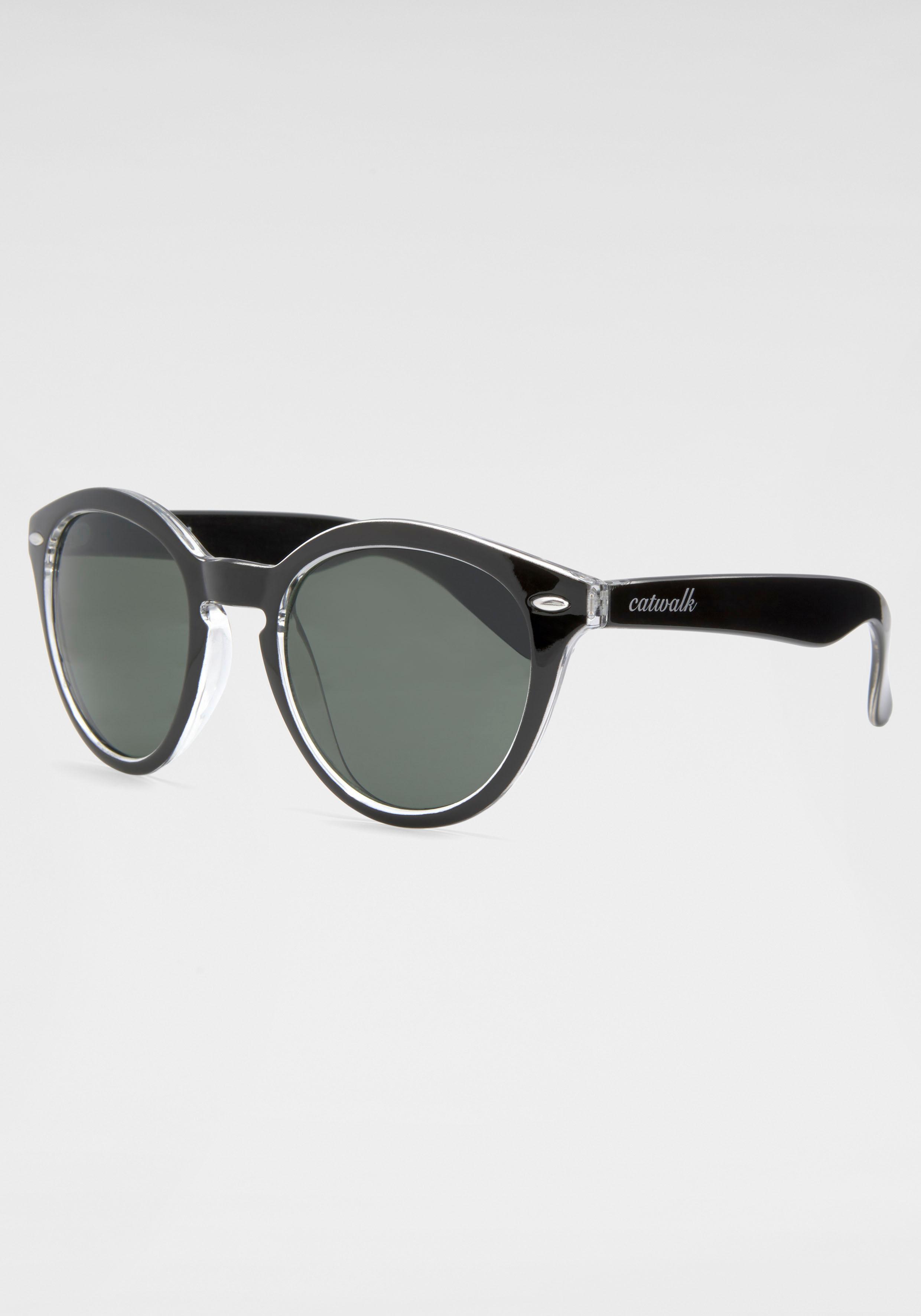 catwalk Eyewear Retrosonnenbrille | Accessoires > Sonnenbrillen | Schwarz | Catwalk Eyewear