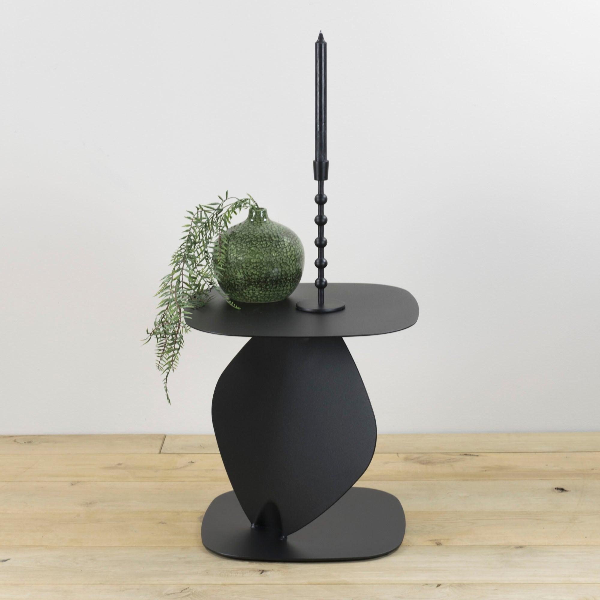 Spinder Design Beistelltisch Ziggy schwarz Beistelltische Tische