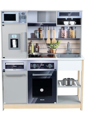 Klein Spielküche »Miele Küche Family«, mit Licht- und Sound; FSC®-Holz aus... kaufen