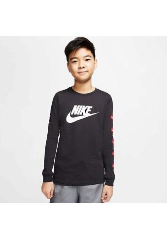 Nike Sportswear Langarmshirt »BOYS TEE LONGSLEEVE FUTURA« kaufen