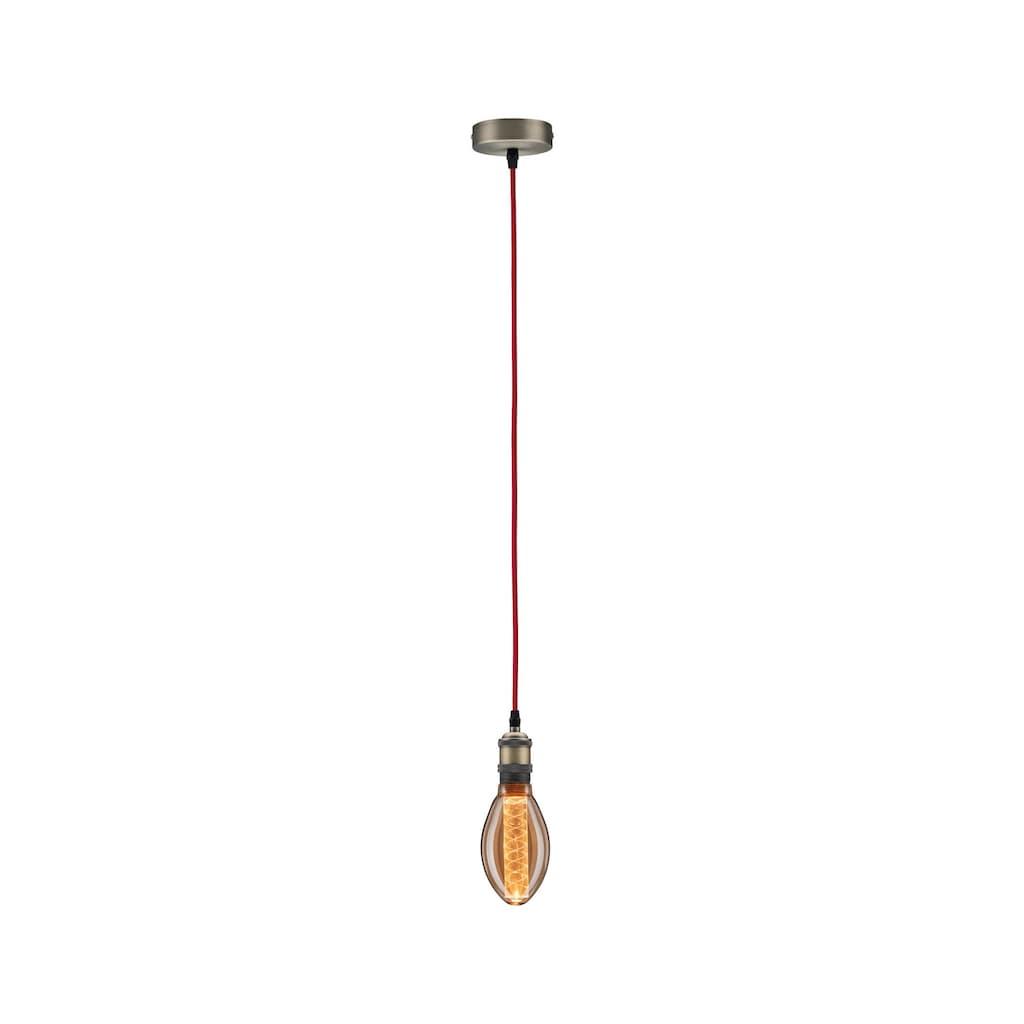 Paulmann LED-Leuchtmittel »Vintage-Birne B75 Inner Glow 4W E27 Gold mit Innenkolben Spiralmuster«, E27, 1 St.