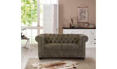 Premium collection by Home affaire 2-Sitzer »Rysum«, Chesterfield-Optik, in 2... kaufen