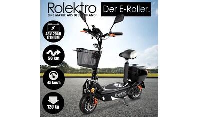 Rolektro E-Mofaroller »Rolektro E-Joy 45 Lithium«, 1000 W, 45 km/h, 50 km kaufen