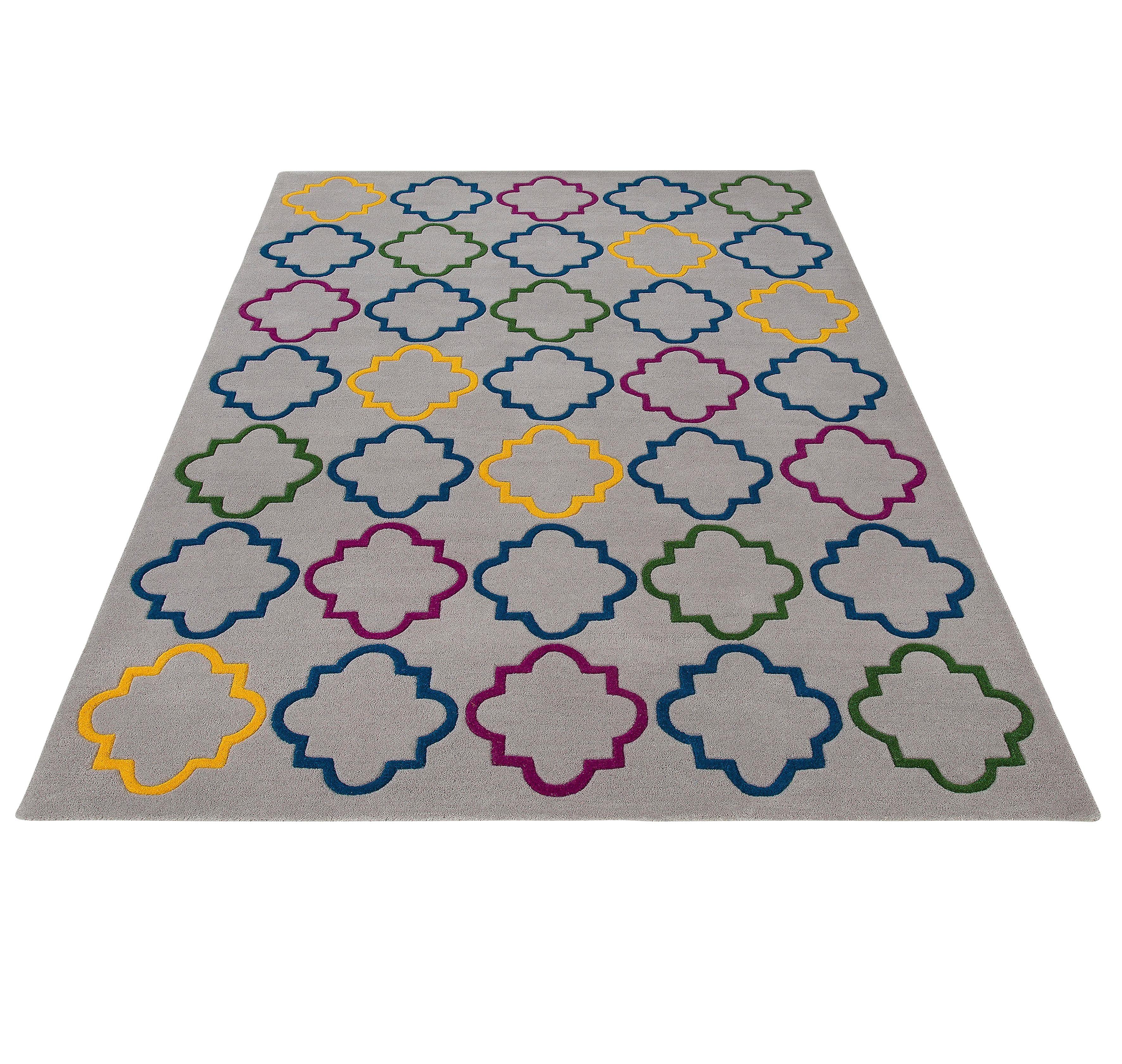 Teppich Gale Theko Exklusiv rechteckig Höhe 15 mm handgetuftet