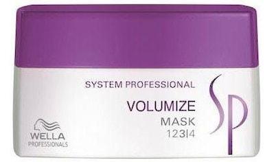 Wella Professionals Haarmaske »SP Volumize«, schwereloses Volumen kaufen