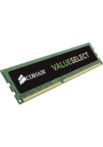 Corsair »ValueSelect 4GB (1x4GB) DDR3 1600MHz CL11 DIMM« PC - Arbeitsspeicher kaufen