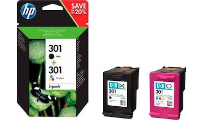 HP »hp 301 / N9J72AE Kombi - Pack« Tintenpatrone kaufen