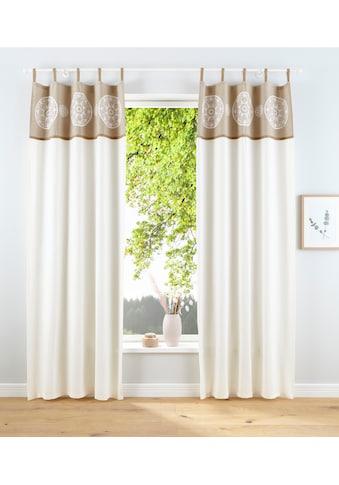 Home affaire Vorhang »Jule«, Nachhaltig kaufen