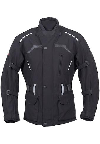 roleff Motorradjacke »RO 1512«, 8 Taschen, 4 Belüftungslöcher, mit Sicherheitsstreifen kaufen