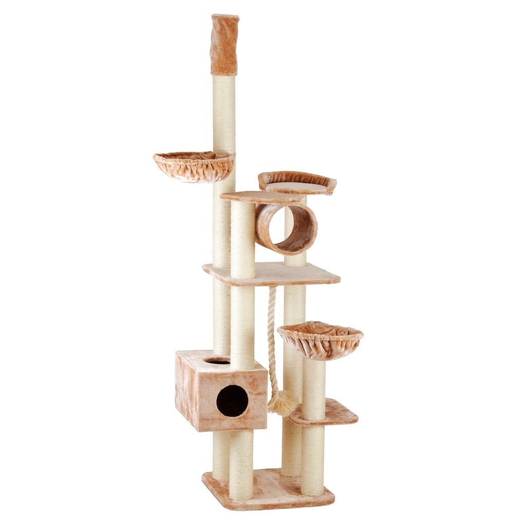 SILVIO design Kratzbaum »Abigal«, hoch, BxTxH: 120x60x240-260 cm