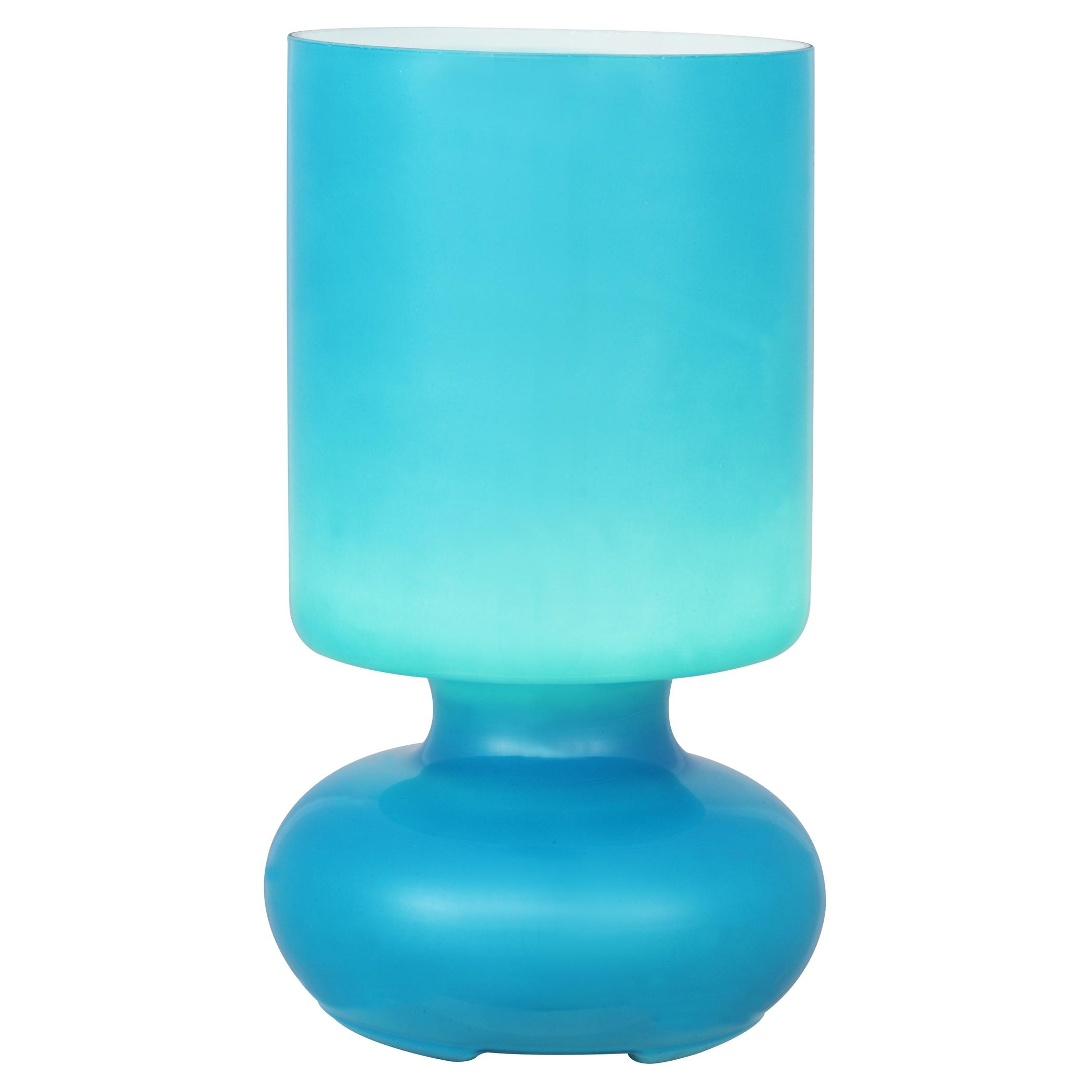 Brilliant Leuchten Fuerte Tischleuchte blau