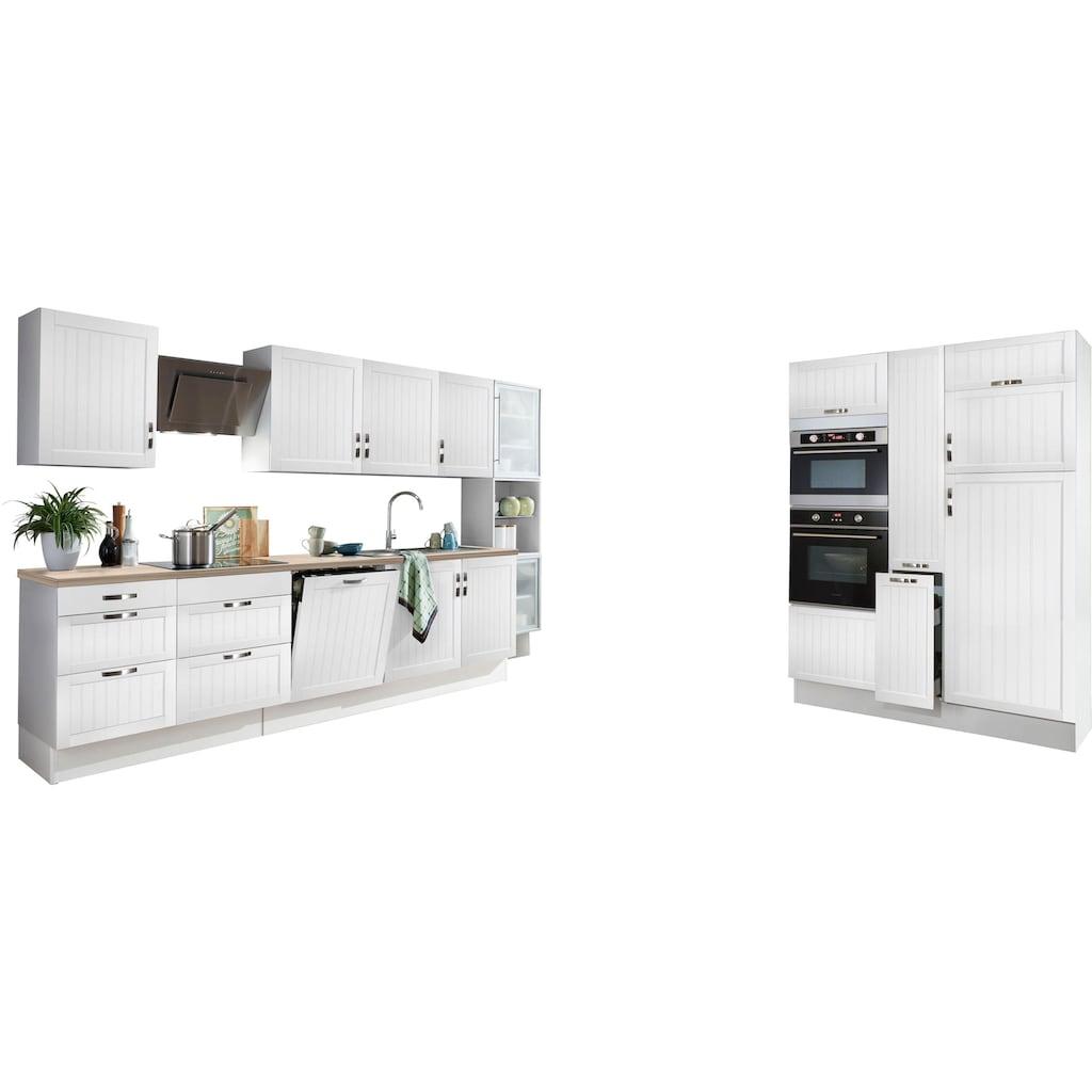 OPTIFIT Küchenzeile »Cara«, ohne E-Geräte, mit Vollauszügen und Soft-Close-Funktion, Breite 480 cm