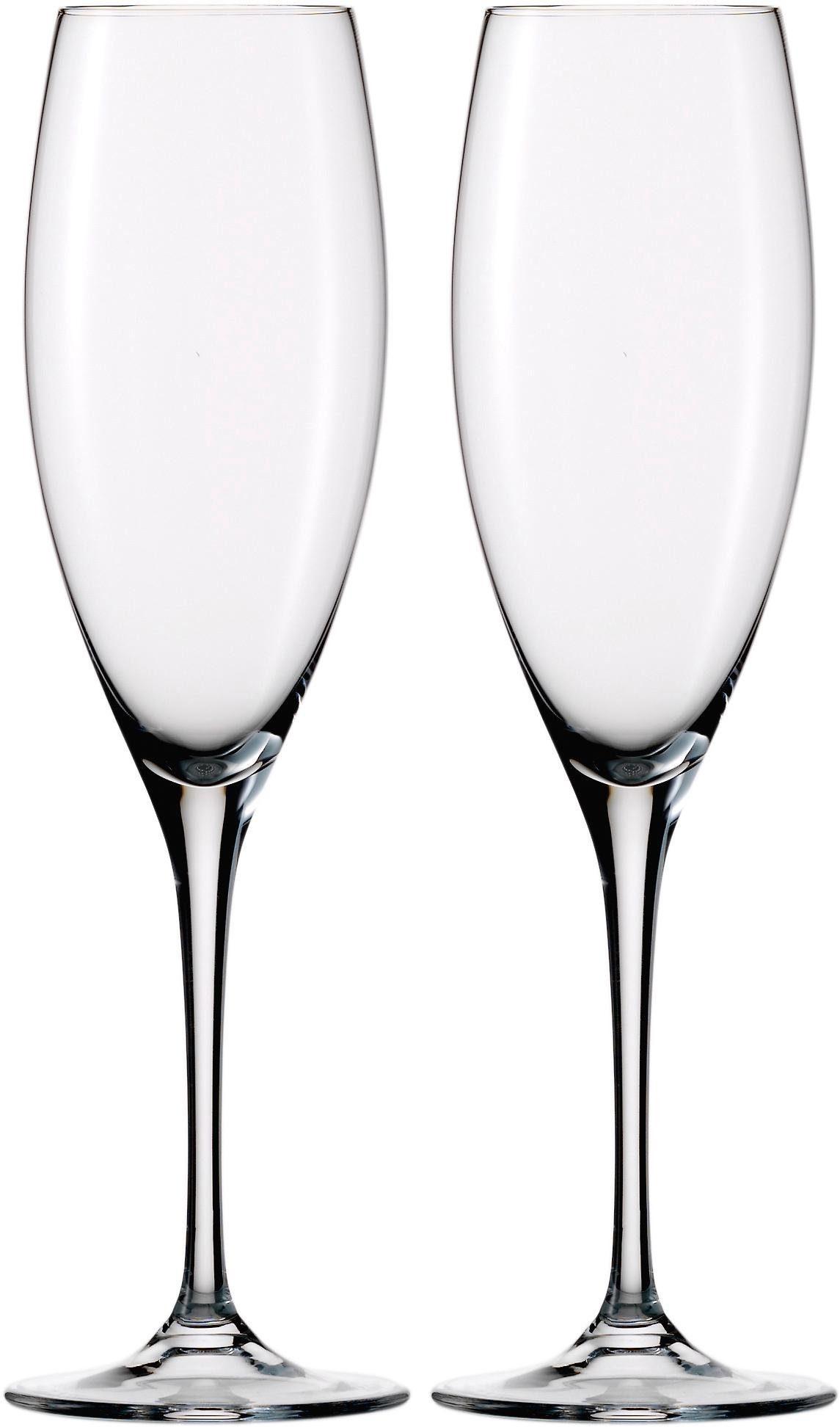 Eisch Champagnerglas Jeunesse, (Set, 2 tlg.), bleifreies Kristallglas, 270 ml farblos Kristallgläser Gläser Glaswaren Haushaltswaren