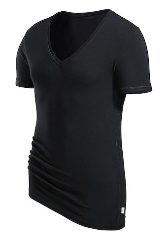 s.Oliver Bodywear T-Shirt, mit tiefem V-Ausschnitt kaufen
