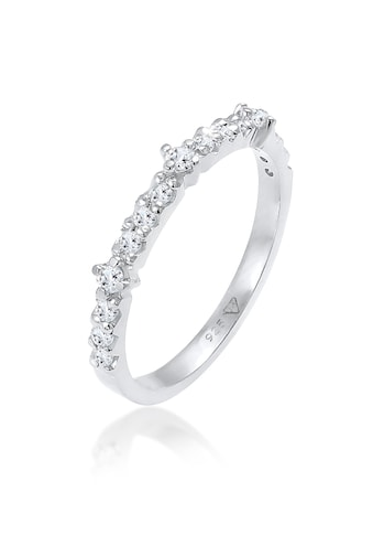 Elli Fingerring »Topas Memoire Eternity Verlobung 925 Silber« kaufen