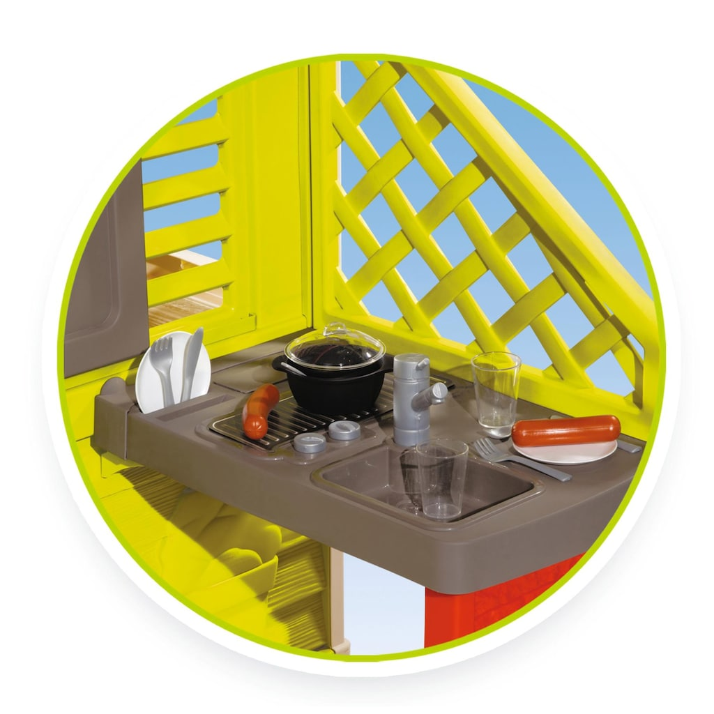 Smoby Spielhaus »Natur mit Sommerküche«, Made in Europe
