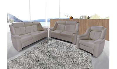 sit&more Polstergarnitur, Set, bestehend aus 3-Sitzer + 2-Sitzer + Sessel kaufen