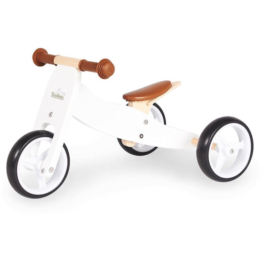 Pinolino® Laufrad »Charlie, weiß/natur«