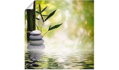 Artland Wandbild »Asiatische Spa Steine« kaufen