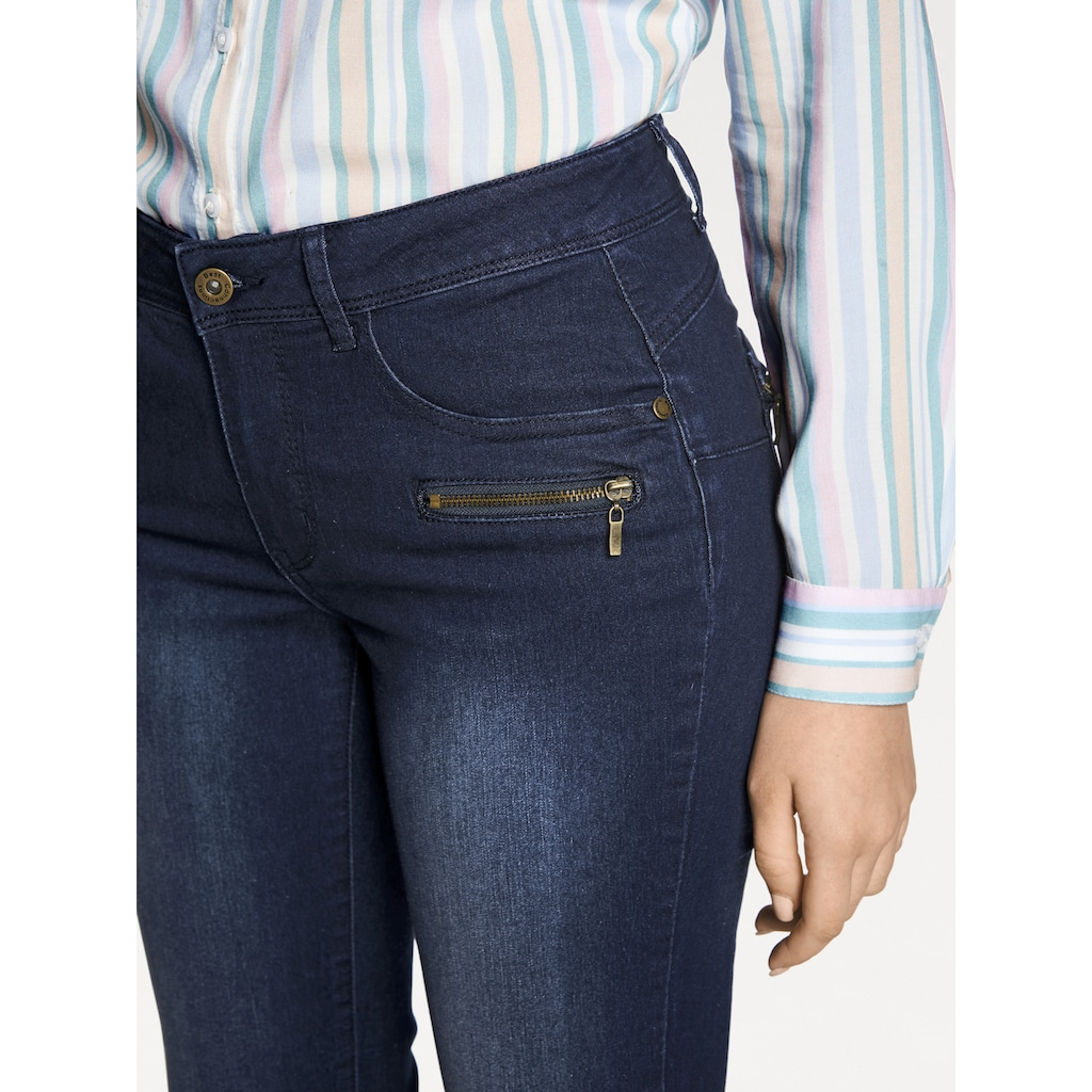 RICK CARDONA by Heine Skinny-fit-Jeans, mit Push-up Effekt