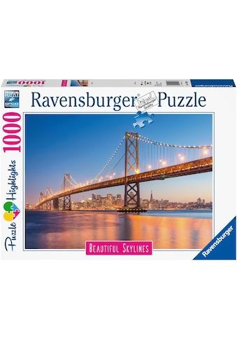 "Ravensburger Puzzle ""Puzzle Highlights Beautiful Skylines  -  San Francisco"" kaufen"