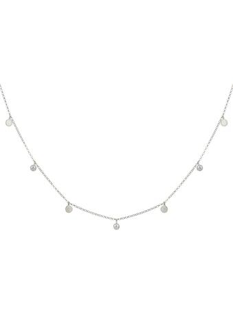 CAÏ Collier »925/- Sterling Silber rhodiniert Anhänger Plättche«, Collier kaufen