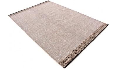 Teppich, »Kelim Mia«, carpetfine, rechteckig, Höhe 6 mm, handgewebt kaufen
