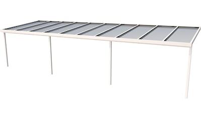 GUTTA Terrassendach »Premium«, BxT: 1014x306 cm, Dach Acryl bronce kaufen