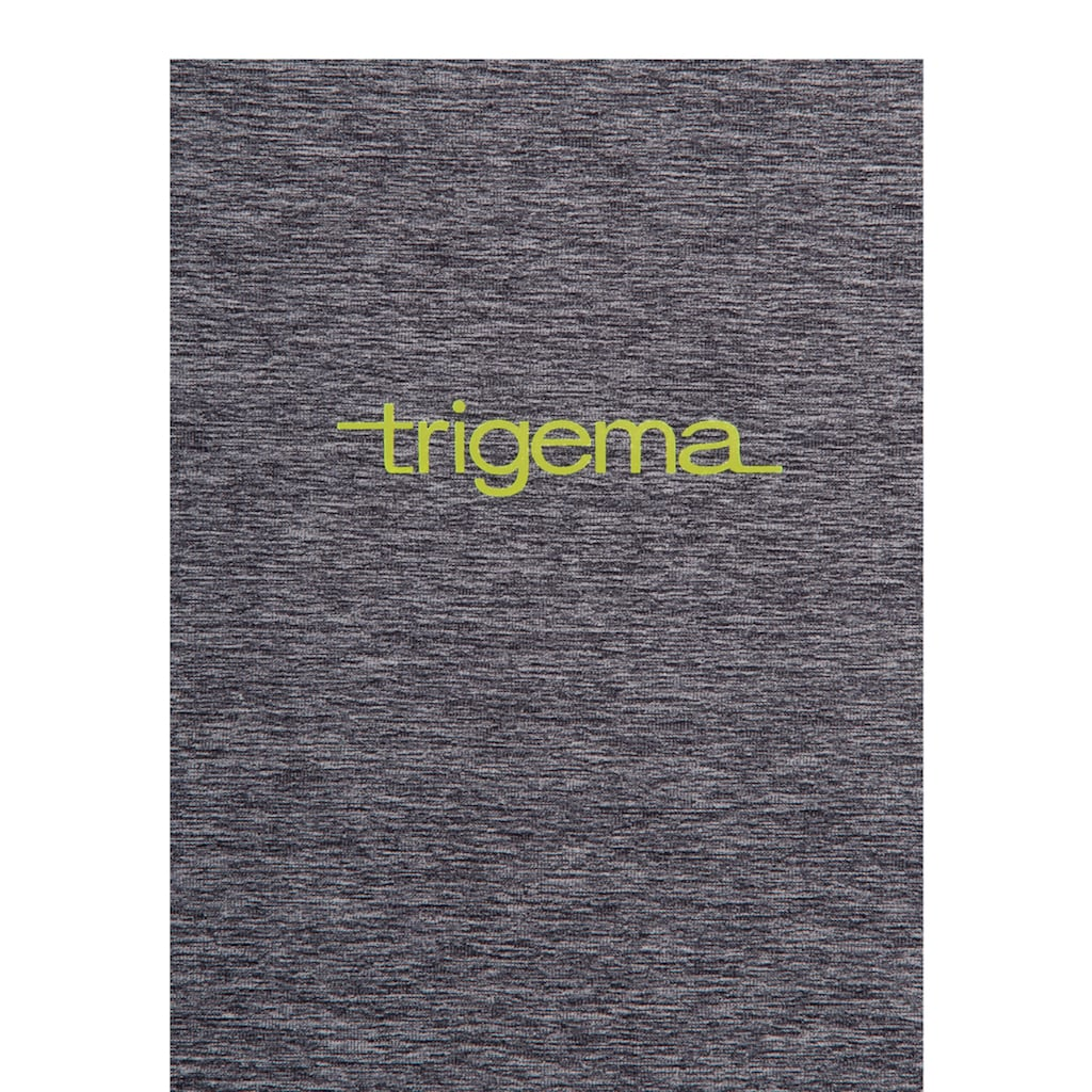Trigema Netzshirt, in Melange-Optik