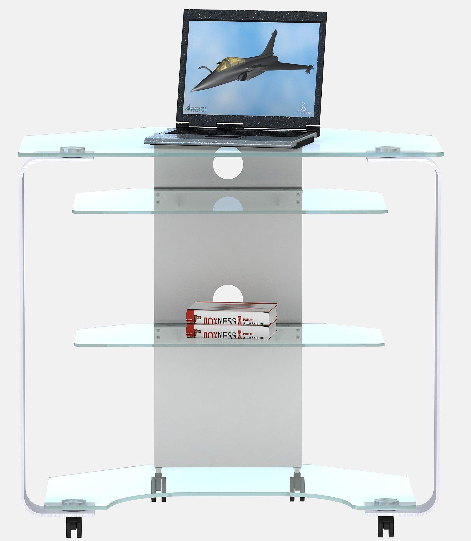 Eck-Laptop-Schreibtisch Jahnke CU MR 200 E Breite 80 cm