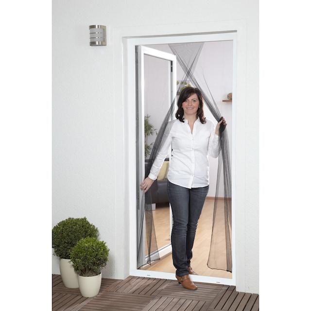 HECHT Insektenschutz-Tür schwarz, BxH: 60/60x210 cm
