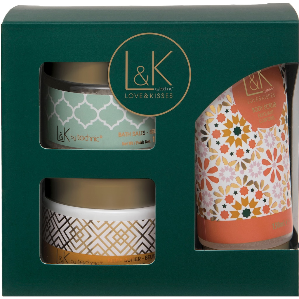 Pflege-Geschenkset »L&K - Body Care Set«, (3 tlg.)