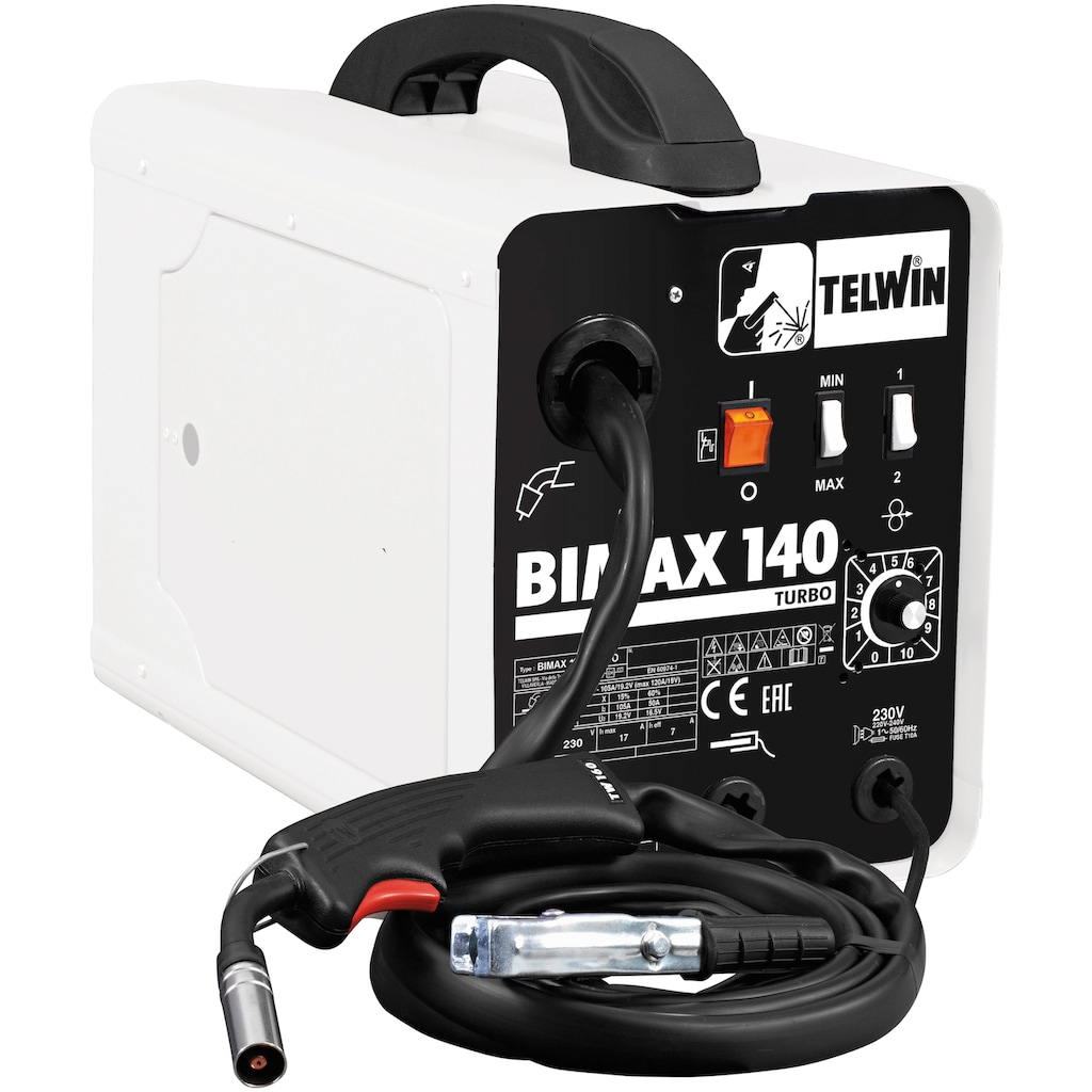 ROWI Schutzgasschweißgerät »Bimax 140«, 50 - 120 A