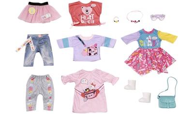"Baby Born Puppenkleidung ""City Fashion"", (Set, 12 - tlg.) kaufen"