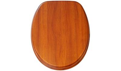 Sanilo WC - Sitz, »Mahagoni« kaufen