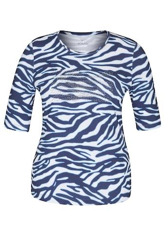Rabe Print-Shirt, mit Animal-Print und Strass-Steinen kaufen