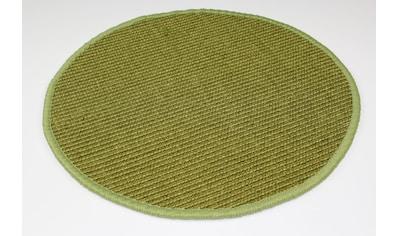 Dekowe Sisalteppich »Mara S2, gekettelt, Wunschmaß,«, rund, 5 mm Höhe, Flachgewebe, Obermaterial: 100% Sisal, Wohnzimmer kaufen