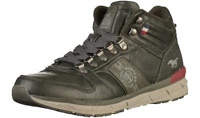 MUSTANG Sneaker »Lederimitat« kaufen