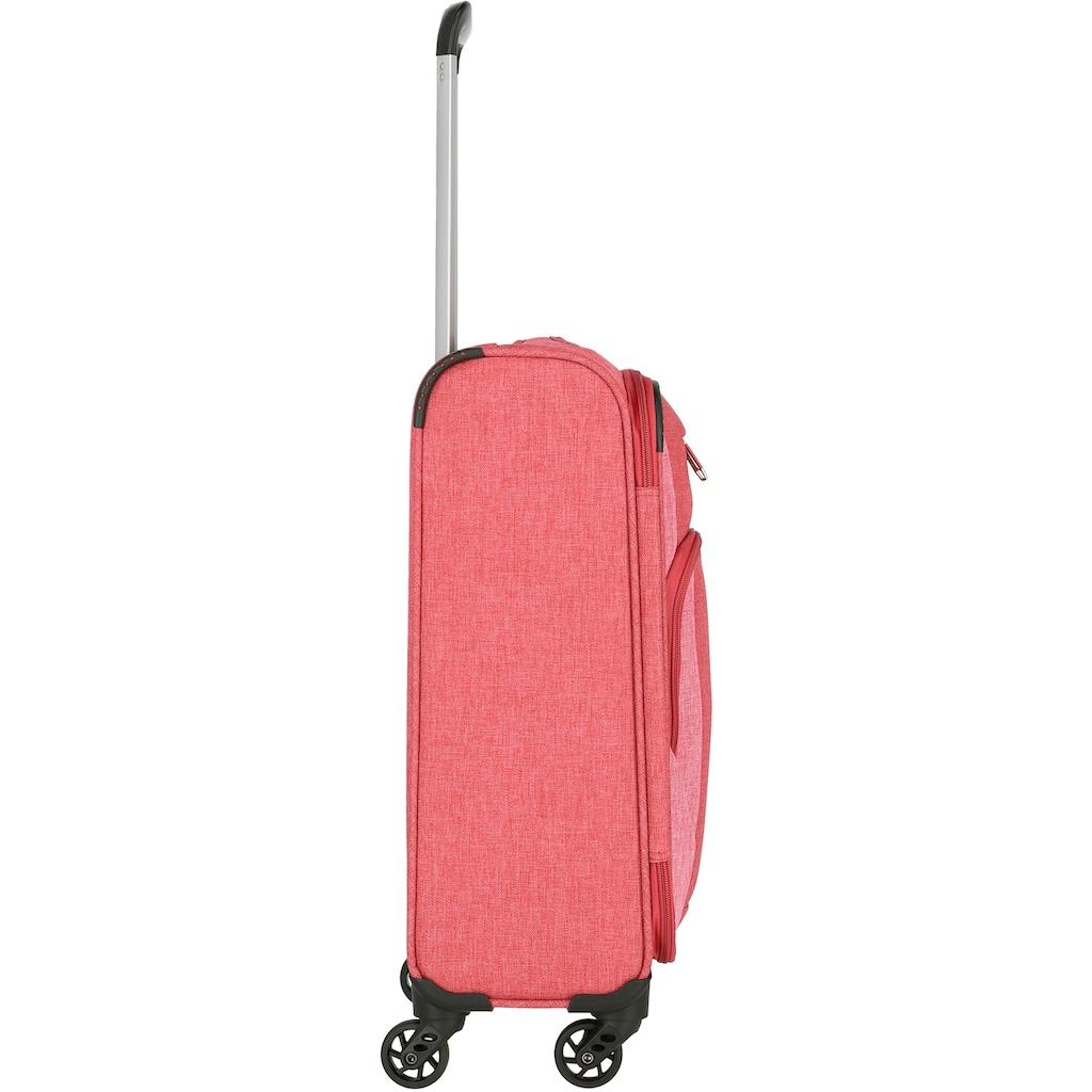 travelite Weichgepäck-Trolley »Jakku, 54 cm«, 4 Rollen