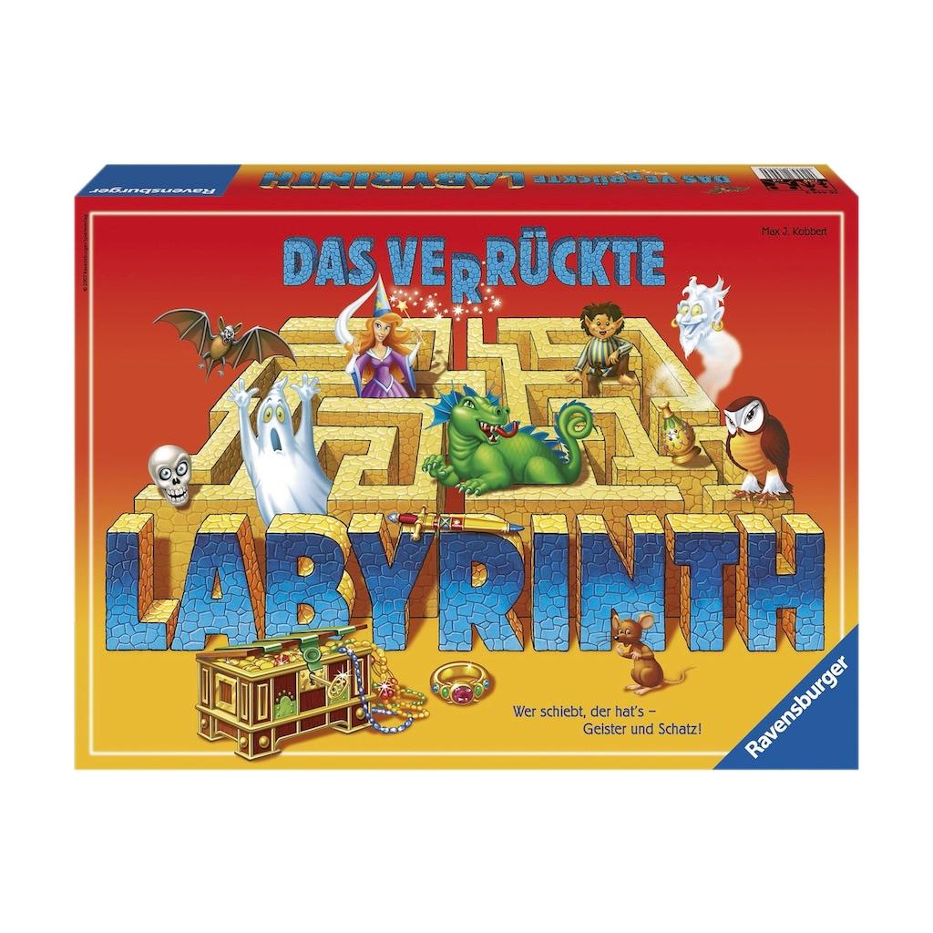 Ravensburger Spiel »Das verrückte Labyrinth«, Made in Europe, FSC® - schützt Wald - weltweit