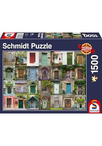 Schmidt Spiele Puzzle »Türen« kaufen