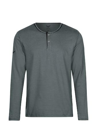 Trigema Langarmshirt, aus Biobaumwolle kaufen