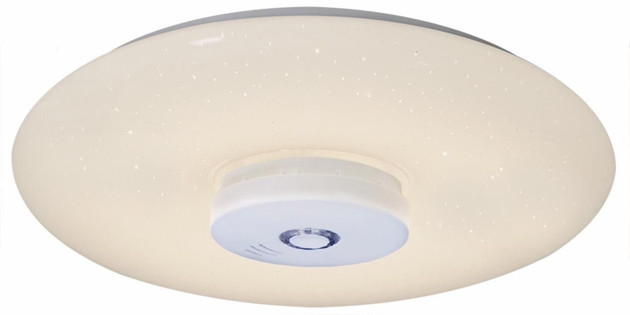 näve LED Deckenleuchte MODENA, LED-Board, Kaltweiß-Warmweiß, mit Rauchmelder