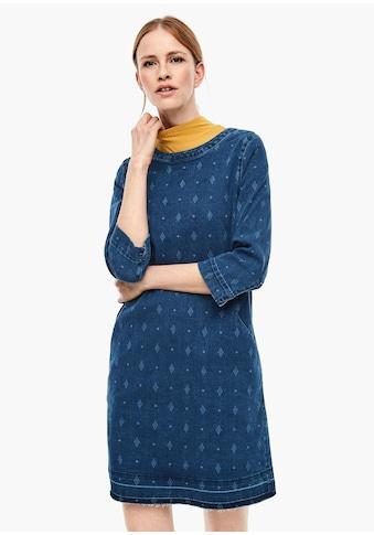 s.Oliver Denim - Kleid kaufen