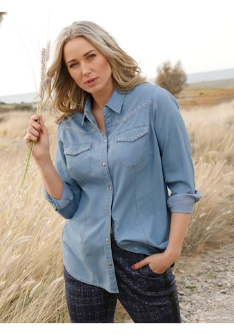MIAMODA Jeansbluse kaufen