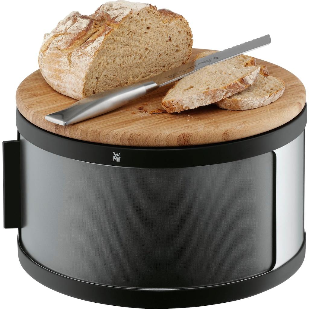 WMF Brotkasten, (1 tlg.), mit Holzschneidebrett