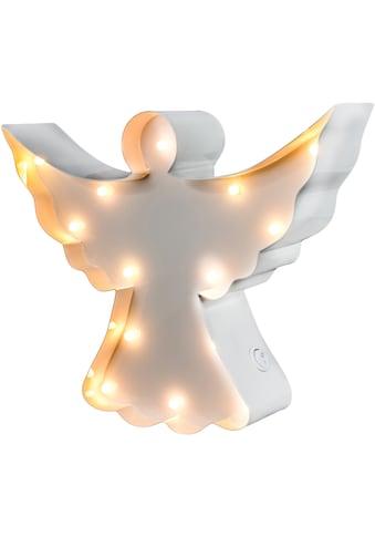 MARQUEE LIGHTS LED Dekolicht »Engel«, 1 St., Warmweiß, Wandlampe, Tischlampe Angel mit... kaufen