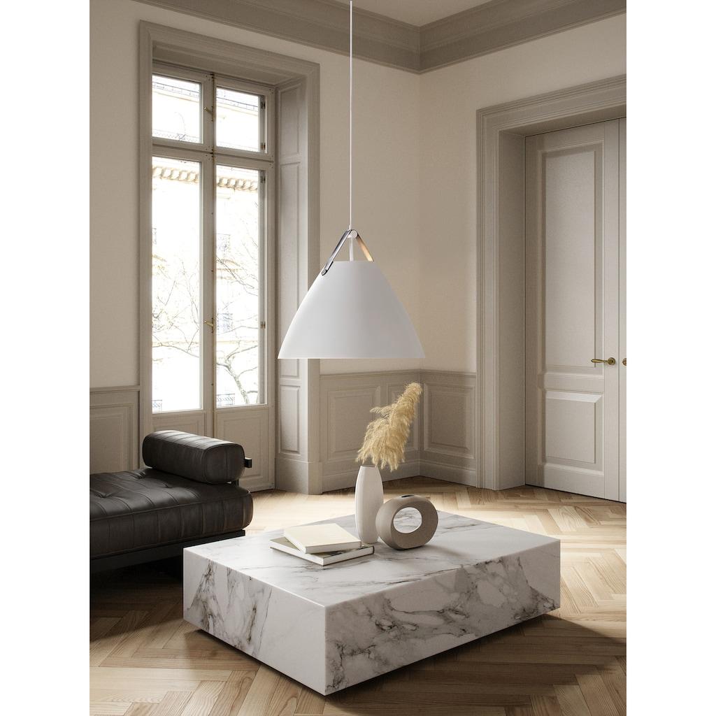 Nordlux Pendelleuchte »ORBIFORM«, E27, Hängeleuchte, Struktur Glas Schirm, Messing Applikation
